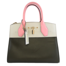 Louis Vuitton Olive/Pink Leather City Steamer PM Bag - $1,490.40