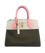 Louis Vuitton Olive/Pink Leather City Steamer PM Bag - $1,399.00