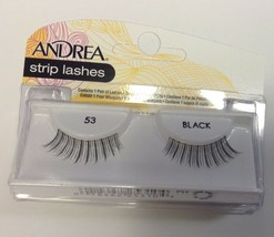 Andrea's Strip Lashes Fashion Eye Lash Style 53 Black - (Pack of 6) - $21.98