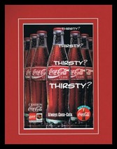 1993 Coca Cola / NHL Framed 11x14 ORIGINAL Vintage Advertisement - $32.36