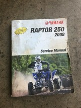 Yamaha Raptor 250 2008 Service Manual #19 - $15.90
