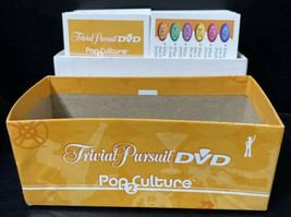 Game Parts Pieces Trivial Pursuit DVD Pop Culture 2 Cards with Box - $7.82