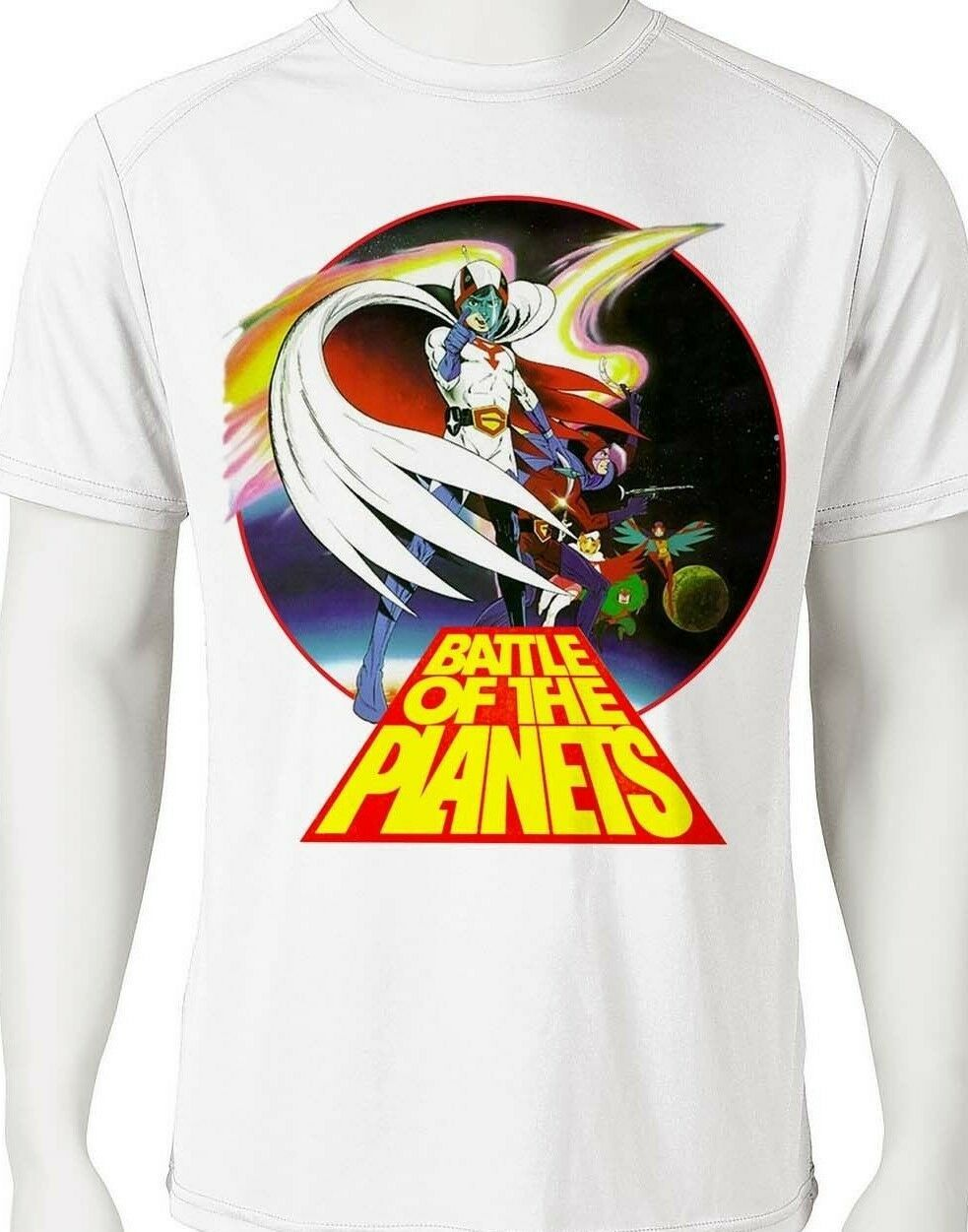 Battle planets dri fit graphic tshirt moisture wicking superhero anime spf tee