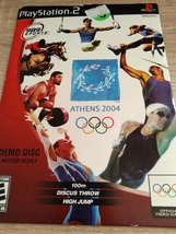 Sony PS2 Athens 2004 DEMO DISC image 1