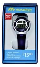 Marathon by Timex Women's Digital Watch, Purple / Silver (TW5M32100WZ) - $12.34
