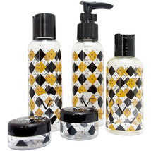 V19.69 Italia TSA Approved Travel Set for Liquids - 3 Bottles, 2 Jars, 1... - $7.99