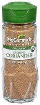 McCormick 1% Organic, Ground Coriander, 1.25-Ounce Unit (Packaging May V... - $12.82