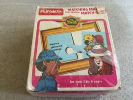 Vintage 1977 Playskool The Electric Company Matching Marks Puzzle SEALED... - $22.72