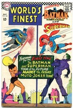 WORLDS FINEST #166 1966-DC COMICS-BATMAN-SUPERMAN-JOKER FR/G - $25.22