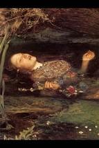 Ophelia by John Everett Millais #2 - Art Print - $19.99+