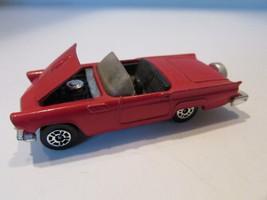 Diecast Corgi Ford Thunderbird Red Convertible 1980 Great Britain H2C - $3.91