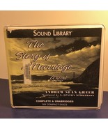 VINTAGE AUDIOBOOK CD BOOK IN BOX CASE STORY OF MARRIAGE ANDREW SEAN GREE... - $14.85