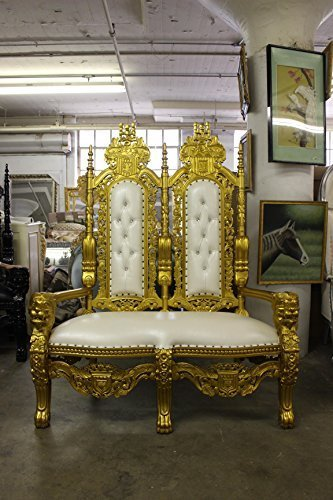 Fine King David High Back Double Lion Throne And 50 Similar Items Dailytribune Chair Design For Home Dailytribuneorg