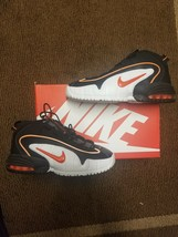 1f1ba6d368 Nike Air Max Penny Le (Gs) 315519-006 BLACK/ Total ORANGE-