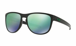 Oakley Sliver R Sunglasses OO9342-05 Matte Black Frame W/ Jade Iridium Lens - $58.84