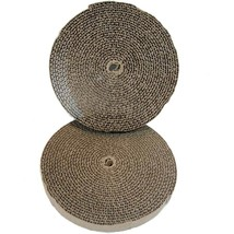 "Bergan Cat Turboscratcher Replacement Pad 2 pack Brown 10.25"" x 10.25"" x... - $11.84 CAD"
