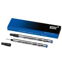 Montblanc 2 Rollerball LeGrand Refills in Pacific Blue 105165 - $30.00