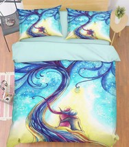 3D Magic Tree 22 Bed Pillowcases Quilt Duvet Cover Set Single Queen King Size AU - $90.04+