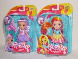 """Sunny Day Doll Lot Pop N Style Sunny & Blair 6"""" - $19.74"""