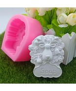 Goat Design Silicone Mould 3D Chocolate Cake Clay Molds for Natural Soap... - $16.82