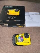 Fujifilm FinePix X Series XP70 16.4MP Digital Camera - Yellow XP-70 w/ WiFi  - $94.76