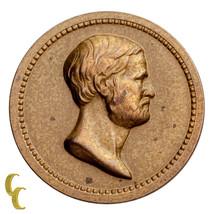1870 Washington/Grant Bronze Medalette (AU) About Uncirculated Condition - $68.31