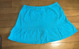 * childrens place solid blue active play gym skort skirt extra large xl 14  - $4.02