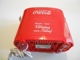 Nostalgia HDT600COKE Coca-Cola Pop-Up 2 Hot Dog and Bun Toaster - £20.88 GBP