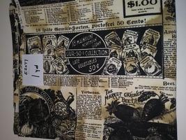 Gardening Print, Hi-Fashion Fabrics, 1 yd. (E2077) - $2.00
