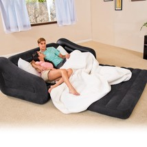 Sofa Bed Sleeper Futon Couch Convertible Modern Living Room Pull-Out Ext... - $69.59 CAD