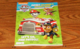Paw Patrol Jumbo Coloring and Activity Book - 64 Pages - New! - $1.99