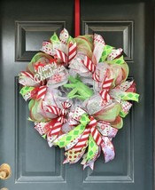 grinch who stole christmas , grinch christmas wreath, christmas wreat - $65.09