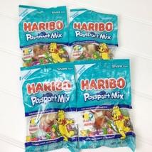 Haribo Passport Mix - Limited Edition Gummies - 4 Bag Lot Exp Date 04/21 & 06/21 - $15.48