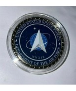 Space Force Coin  With Case    Military Family Made - buy American - $4.70