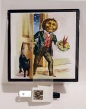 Halloween Vintage Scrap Art Reproduction THE VISITOR Night Light - €9,31 EUR