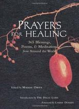 Prayers for Healing: 365 Blessings, Poems, & Meditations from Around the World [ image 1