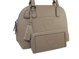 Guess Logo Purse Satchel Crossbody Bag & Wallet 2 Piece Matching Set Pin... - $148.49