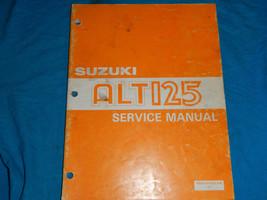 1983 83 Suzuki ALT125 Alt 125 Shop Service Repair Manual - $12.88