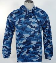 Men's Under Armour Coldgear Blue Camo Pullover Hoodie UM0622 - $52.49