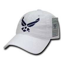 United States Air Force Usaf Officially Licensed White Relaxed Fit Baseball Cap - $26.95