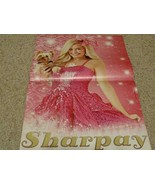 Ashley Tisdale teen magazine poster clipping Bravo Disney Channel pink d... - $6.00
