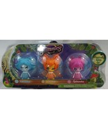 Glimmies 3 Pack Figures Lavoonia Cerulea Spinosita Magically  Lights Up - $14.84