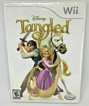 Tangled (Nintendo Wii, 2010) Complete with case And manual - $9.95