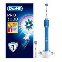 Oral-B Pro 3000 Elektrische Zahnbürste Andruckkontrolle und 2 Aufsteckbürsten  - $103.00