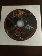 BEACHBODY INSANITY MAX 30 REPLACEMENT DISC DVD MAX OUT SWEAT & AB ATTACK 10 - $14.46