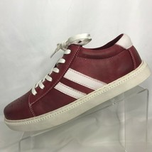 Kenneth Cole Mens Madox Red Fashion Sneaker Size 8M Shoes - $43.55
