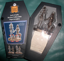 Nightmare Before Christmas Jack and Sally  NMBC - Bronze - First Limited... - $199.99