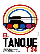 5894.El tanque t-34.soviet film.tank in target window.POSTER.Home Office art - $10.89+