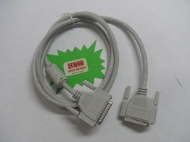 HP iEEE 1284 DB-25p-M-M Parallel 6ft Cable 5064-7157 - $4.95