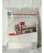 Vintage Columbia-Minerva Cardinal Mailbox Needlepoint Christmas Idea Kit... - $47.45